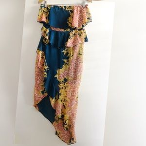 Pretty Little Thing Tiered Ruffle Dress NWT